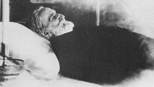 Verdi auf dem Totenbett